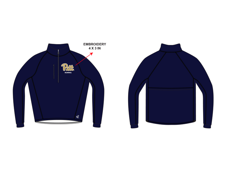 Simple Sequel Jacket - UNIVERSITY PITTSBURGH