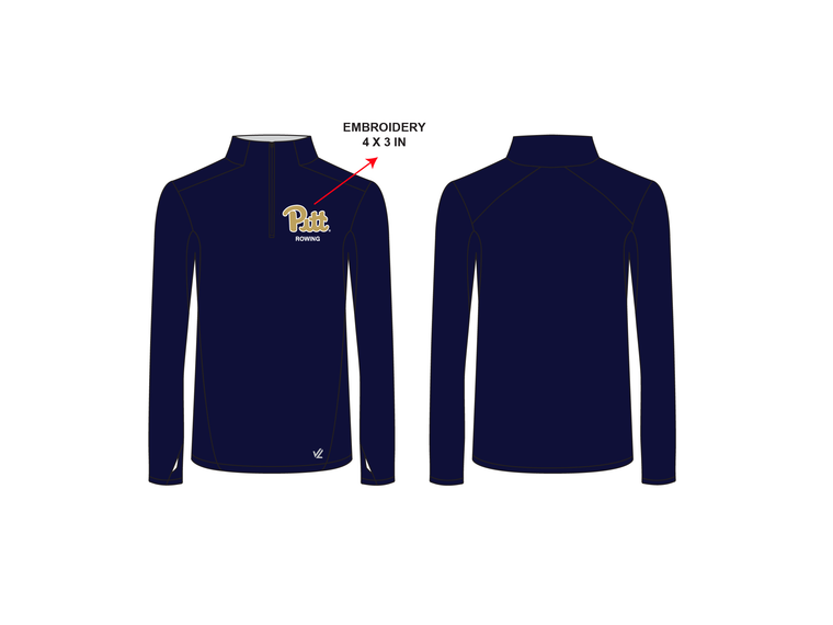 **REQUIRED** Men's Performance Quarter Zip - UNIVERSITY PITTSBURGH