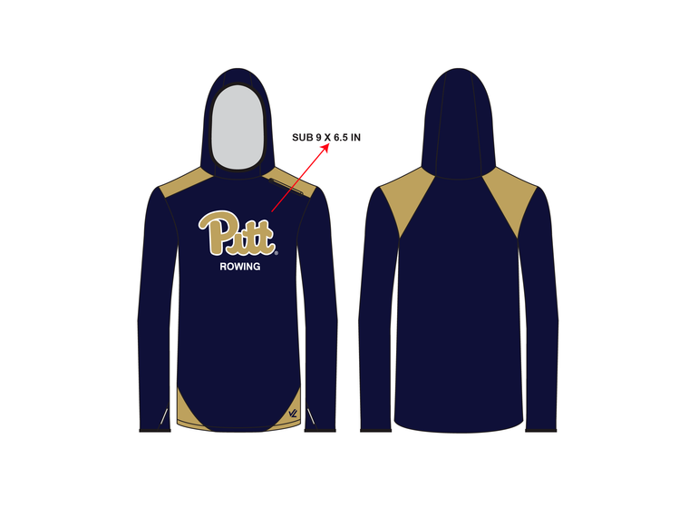 Unisex Wild Oar Lightweight Active Hoodie - UNIVERSITY PITTSBURGH
