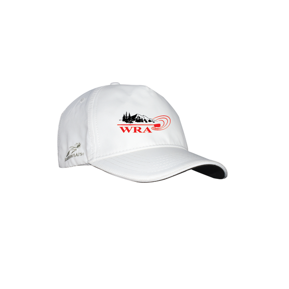 ASI White Headsweat Hat - WHATCOM