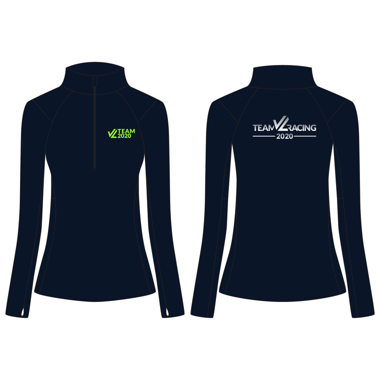 Women's Wild Oar Performance Quarter Zip - TEAM JL 2020 INTL