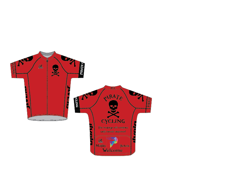 Men's SDP Premium Jersey - PIRATE CYCLING