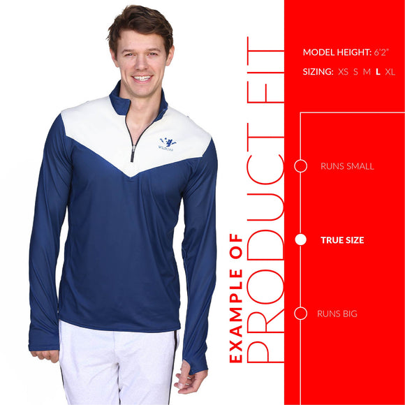 Men's Performance Quarter Zip - ROCKBOX