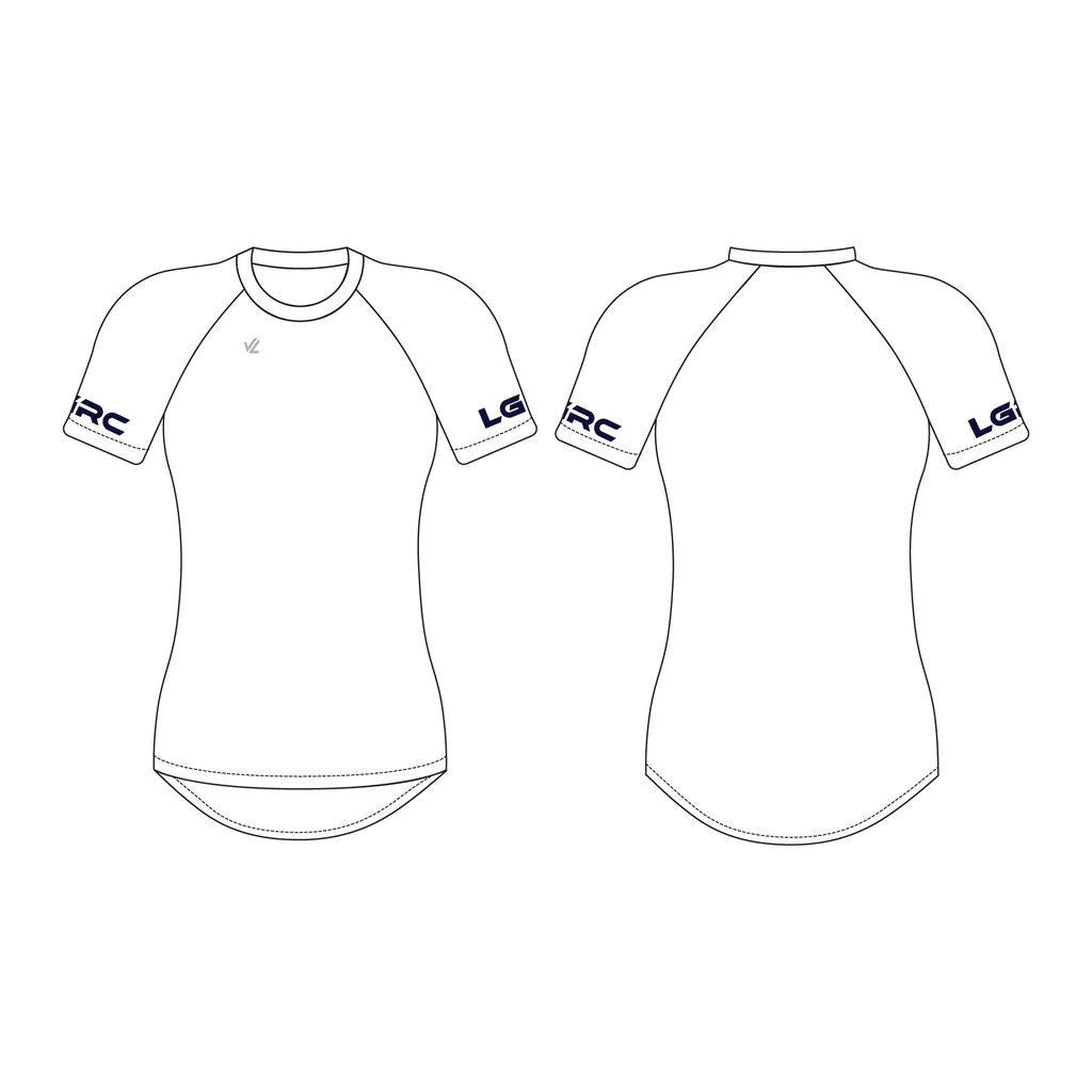 Women's Short Sleeve Tech Shirt - LOS GATOS JRS