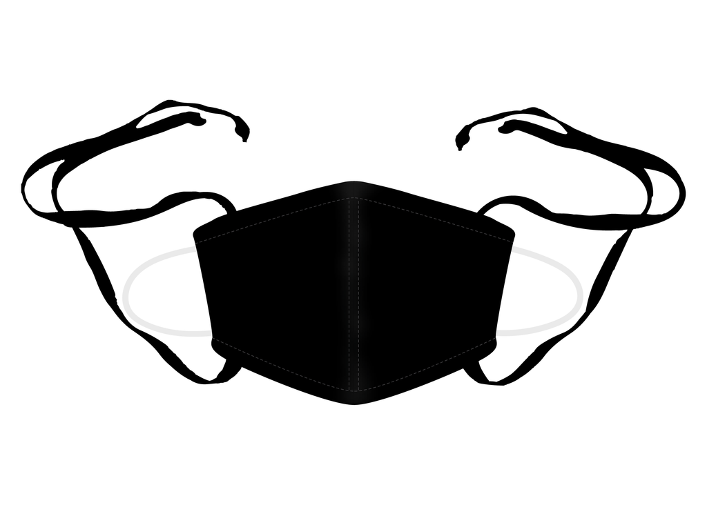 Unity Reusable Face Mask Black - MWDOC