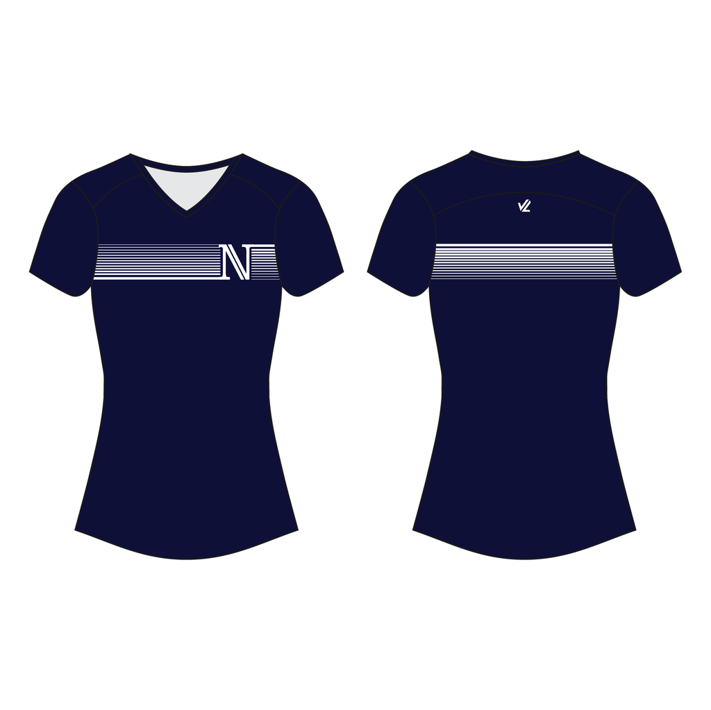 Women's Wild Oar Performance Tee - NARRAGANSETT