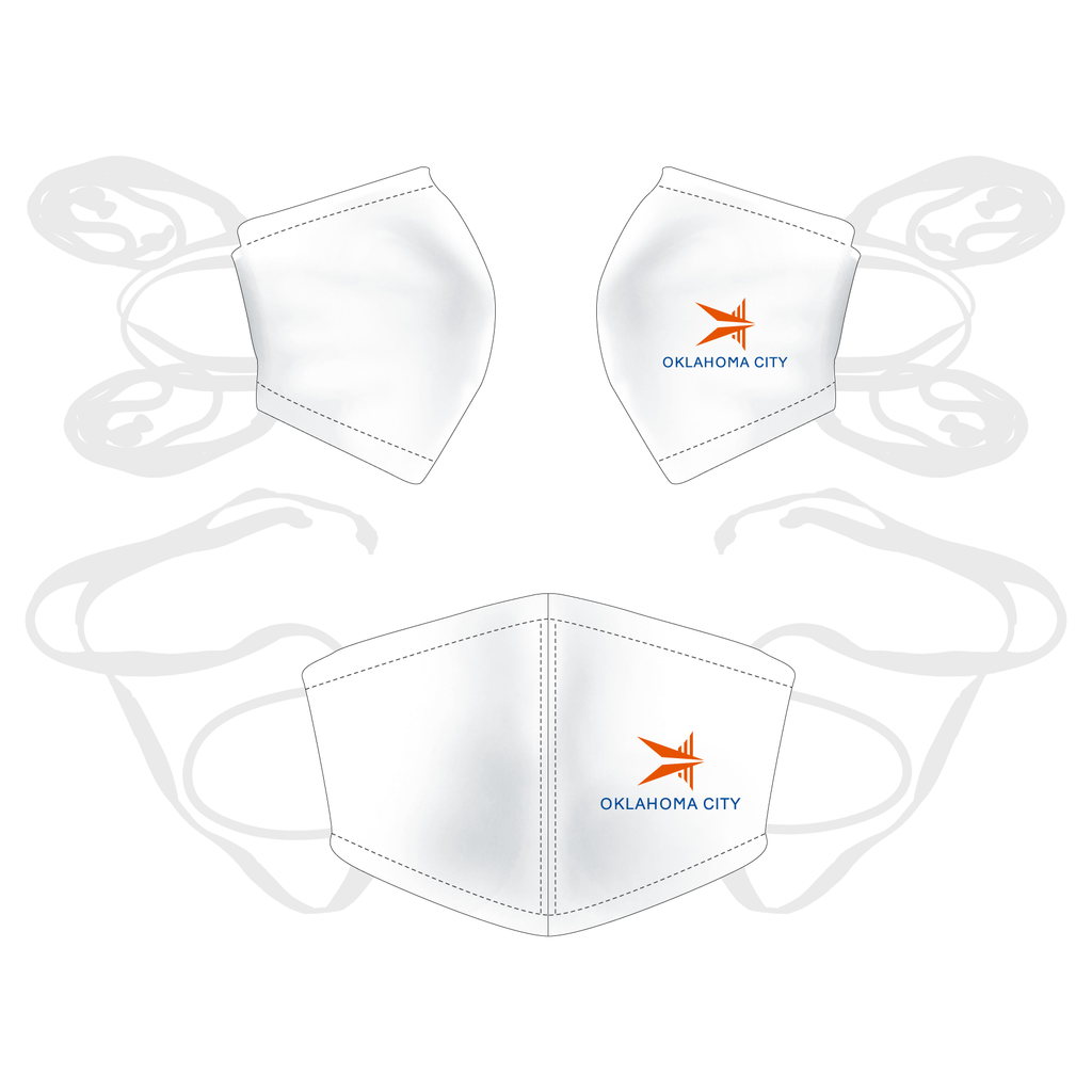 3 Pack - Unity Reusable Face Mask - OKC BOATHOUSE