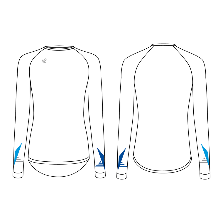 Women's Long Sleeve Tech Shirt - OKC BOATHOUSE