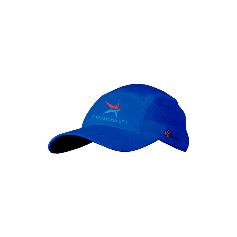 ASI JL Coolplus Hat Blue - OKC BOATHOUSE