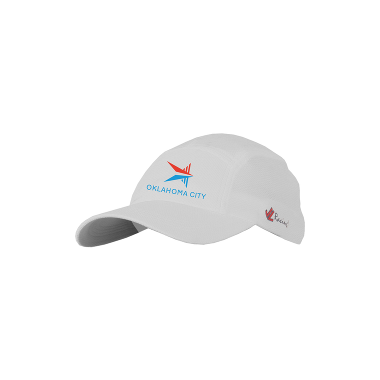 ASI JL Coolplus Hat White - OKC BOATHOUSE