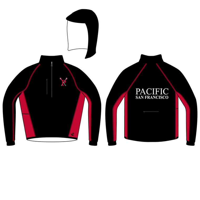 Unisex Classic Sequel Rower Midweight Jacket - PACIFIC
