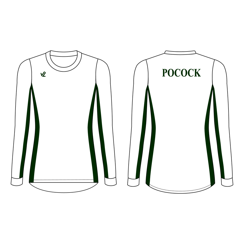 Women's Loose Long Sleeve Shirt - POCOCK
