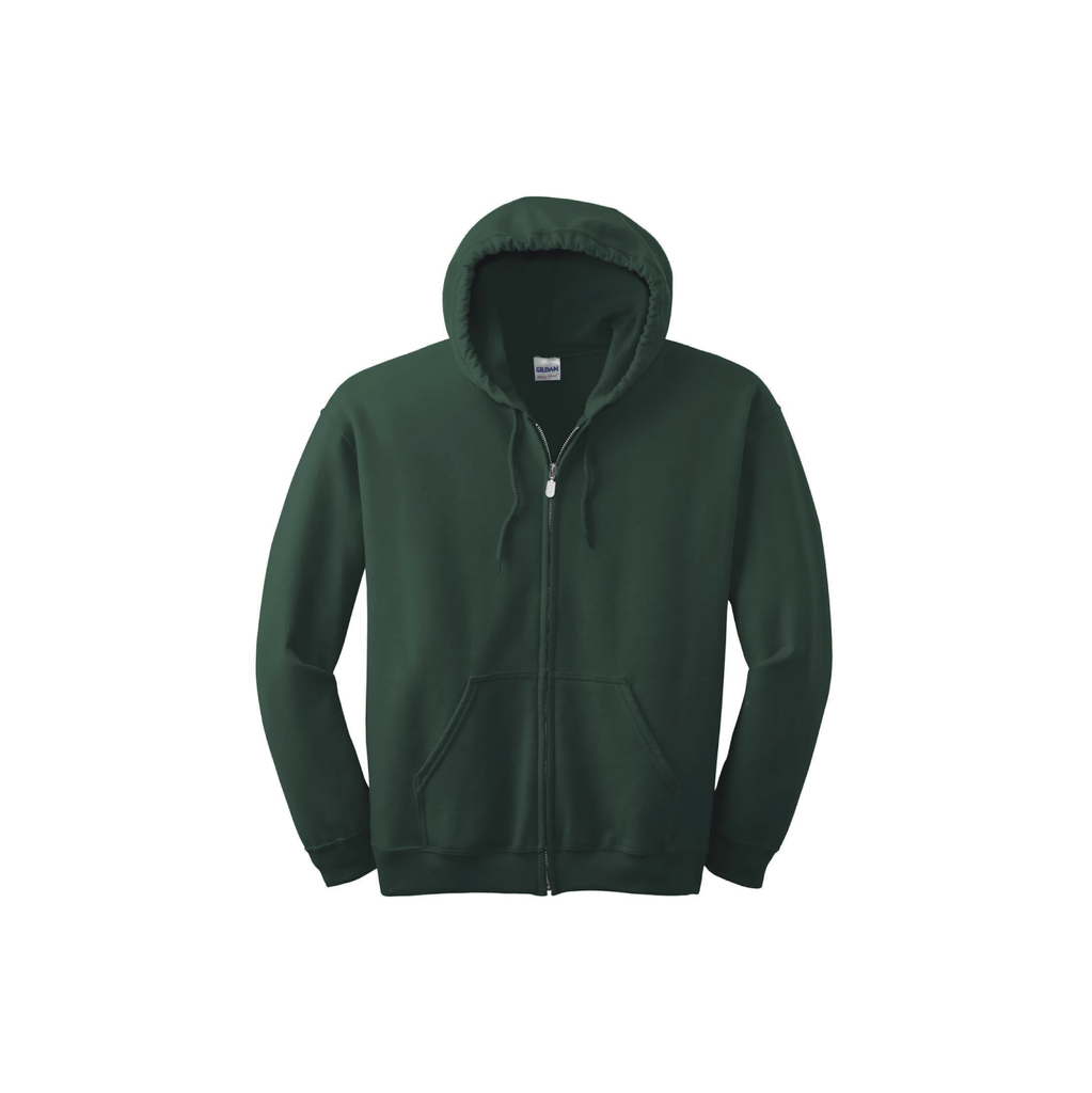 Men's Heavy Blend Full-Zip Hooded Sweatshirt - POCOCK