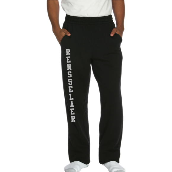 ASI Side Pocket Sweatpants Open Bottom - RENSSELAER