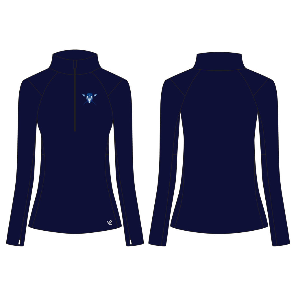 Quarter-zip top (Wild Oar Sizing) – Women's