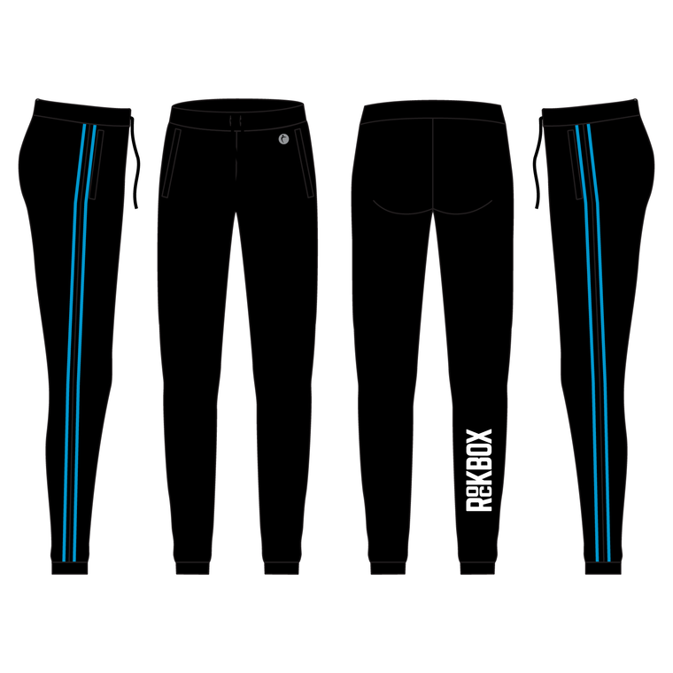 Women's Luxe Warmup Joggers With Speed Stripe - ROCKBOX