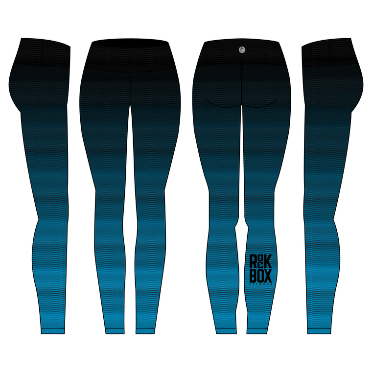 Woman's Ankle Length Legging Reversible - ROCKBOX