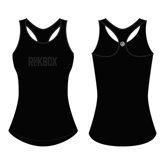 Women's Pro Tank Black - ROCKBOX