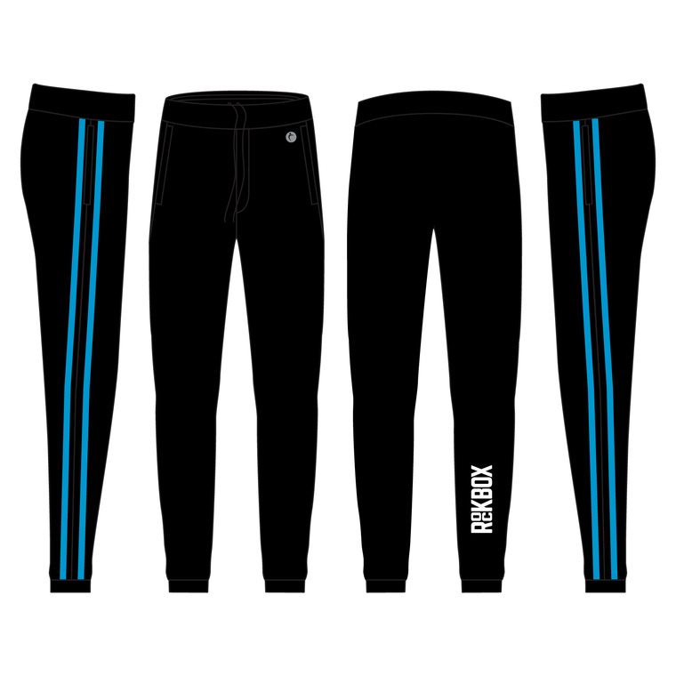 Men's Scrunch Sweats With Speed Stripe - ROCKBOX