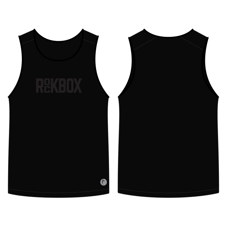 Men's Pro Singlet Black - ROCKBOX