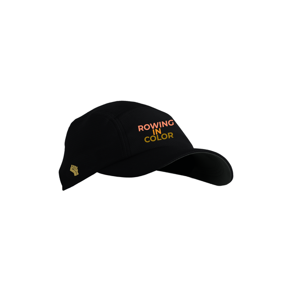 JL ASI Tech Hat Black - ROWING IN COLOR