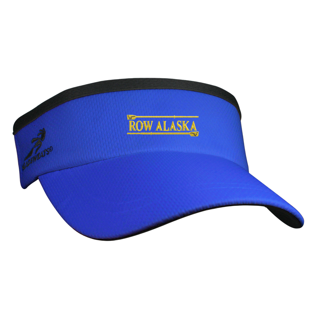 ASI Headsweats Royal Visor - ANCHORAGE ROWING