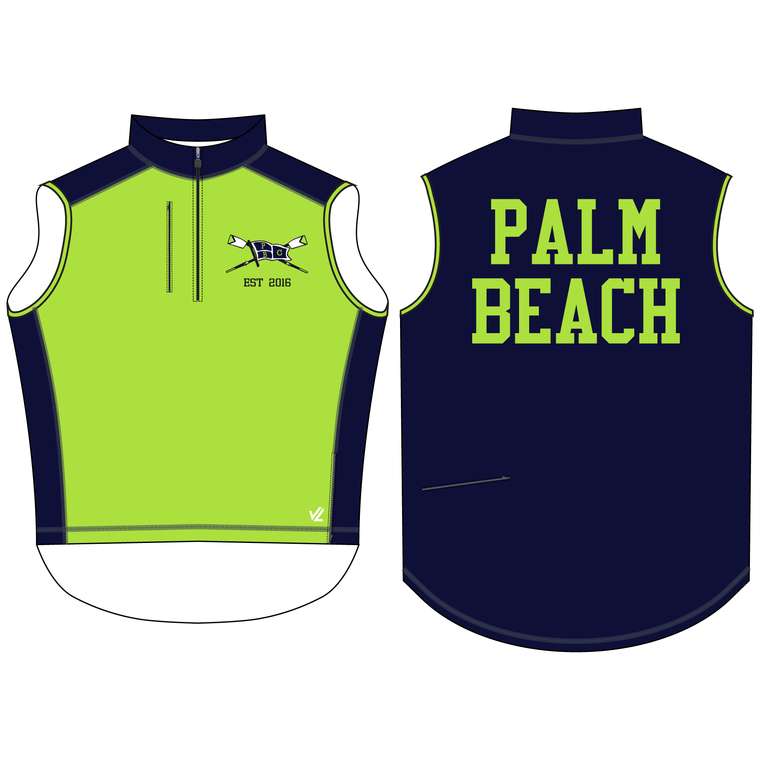 Men's Midweight Sequel Turtleshell Vest - PALM BEACH ROWING