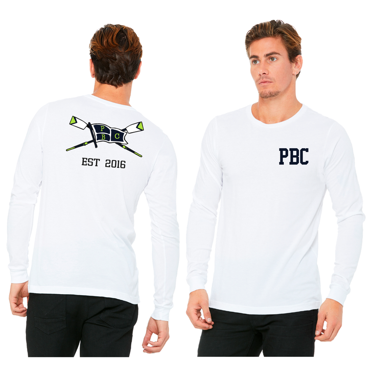 Men's Long Sleeve Tee - PALM BEACH CREW