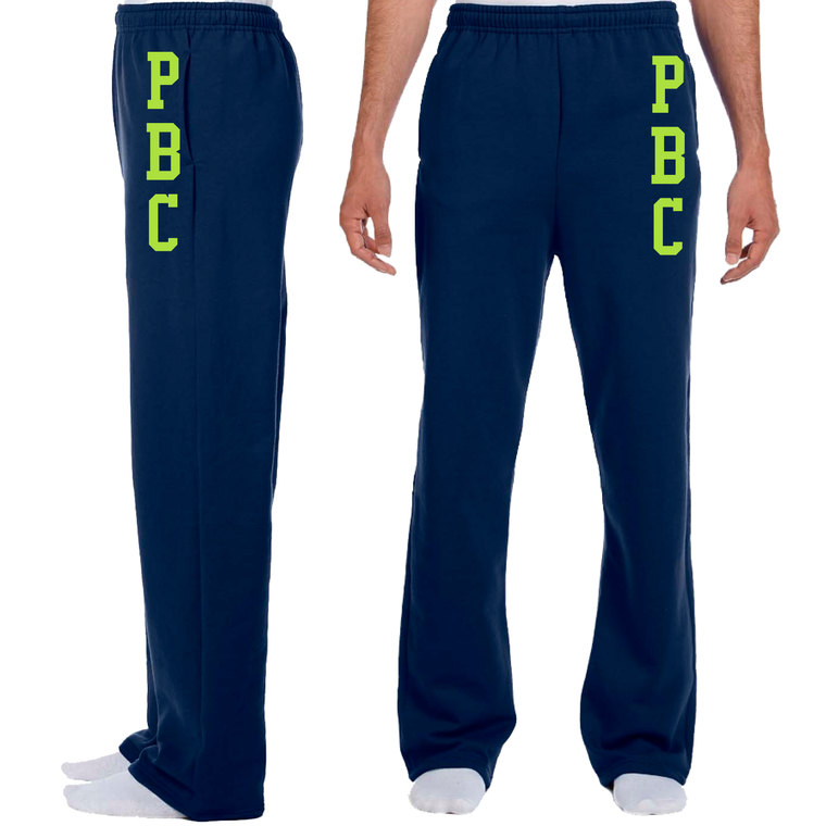 Men's Open Bottom Sweatpant - PALM BEACH CREW
