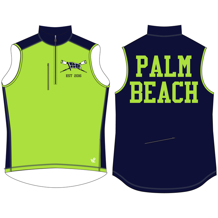 Women's Midweight Sequel Turtleshell Vest - PALM BEACH CREW