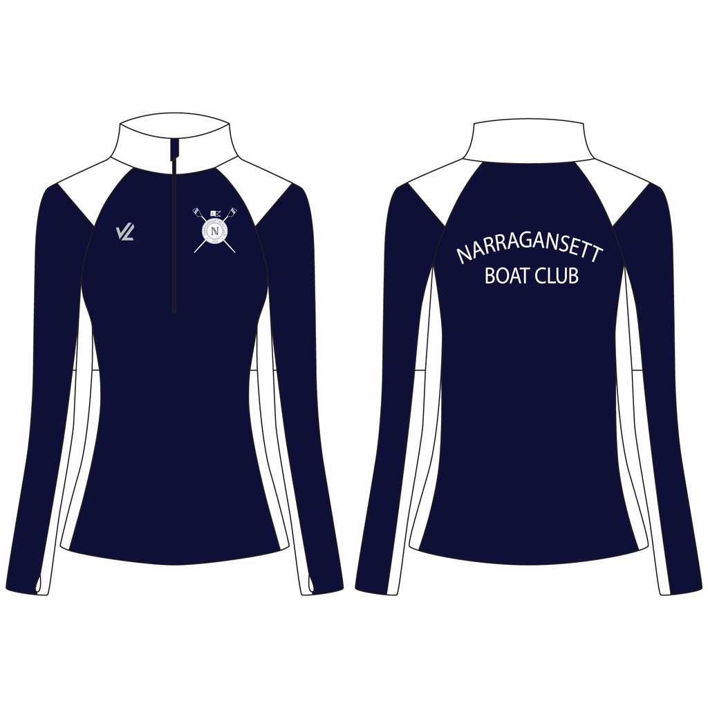 Women's Wild Oar Performance Quarter Zip - NARRAGANSETT