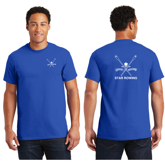 ASI Men's Cotton Short Sleeve T-Shirt - STAR BOATING CLUB