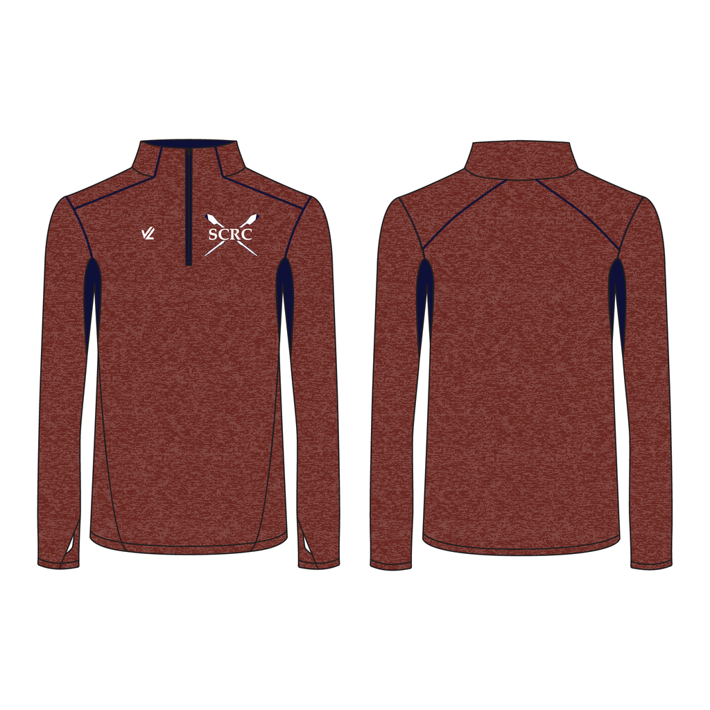 Men's Wild Oar Performance Quarter Zip - SWAN CREEK