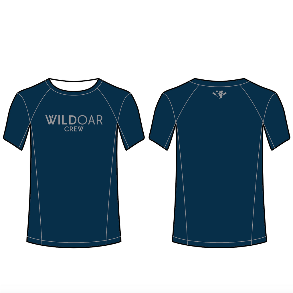 Men's Wild Oar Performance Tee Shirt - WALT WHITMAN H.S CREW