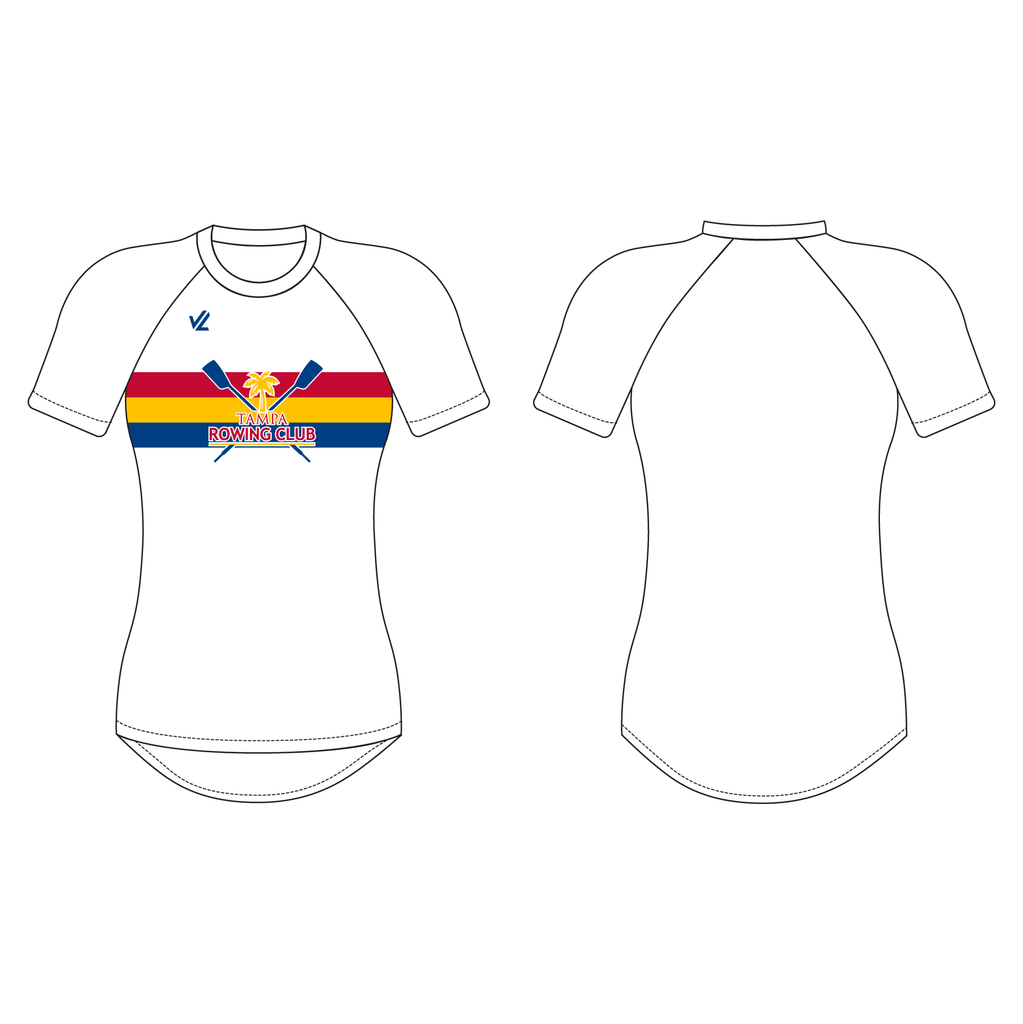Women's Tech Shirt Short Sleeve - TAMPA ROWING