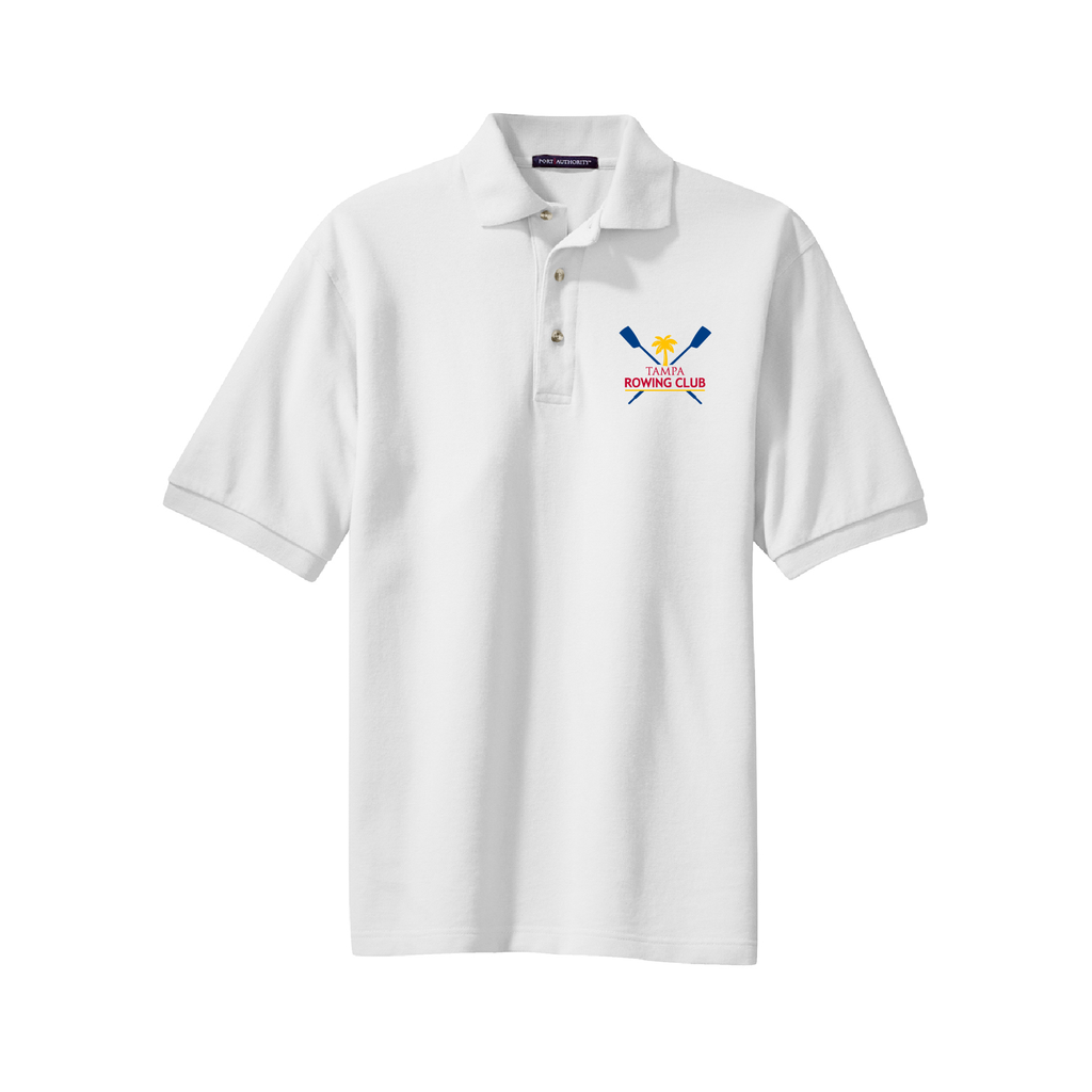 ASI Unisex Cotton Pique Polo - TAMPA ROWING