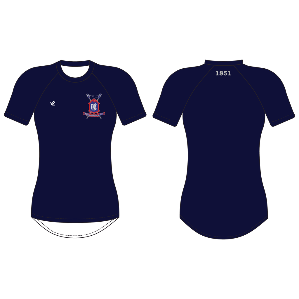 Women's Tech Shirt Short Sleeve - UNION BOAT CLUB