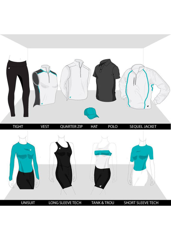 Women's Pro Custom Kit