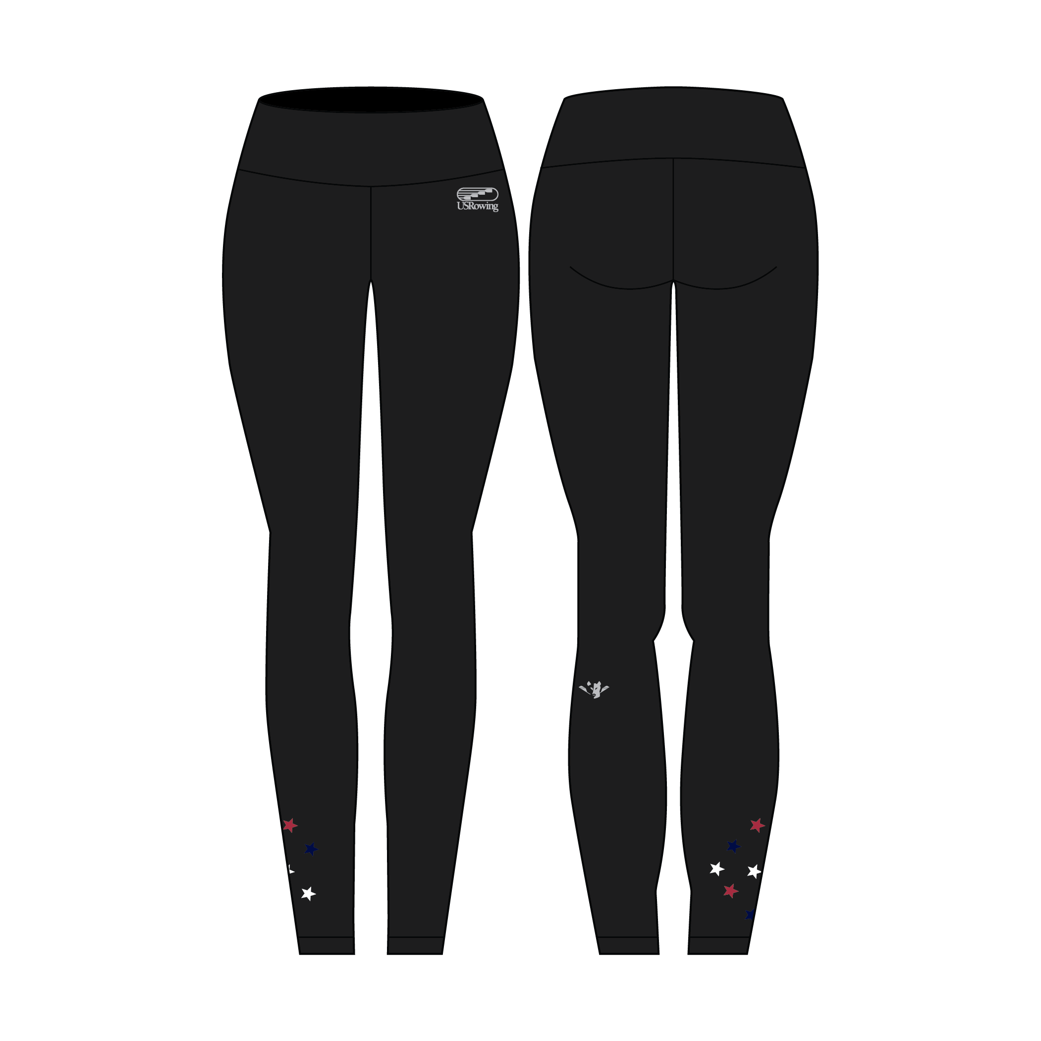 ca84dae16d9e09 USR Women's Full Length Legging - JL Racing