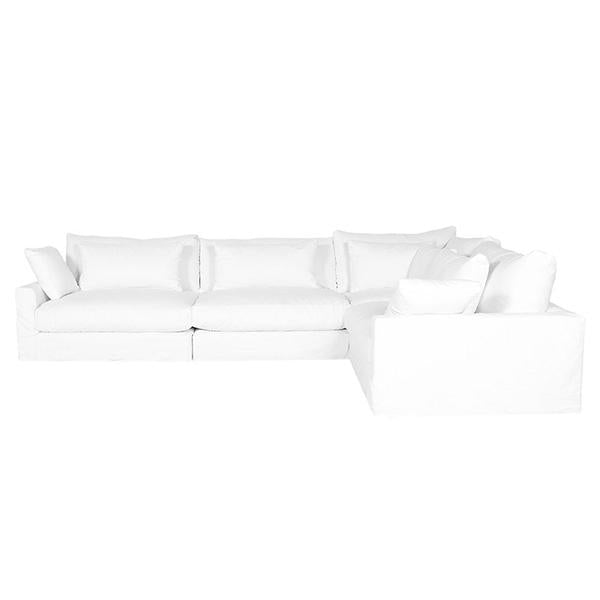 Suburban Chateau Director Slipcover Sectional by Los Angeles Custom Furniture - Los Angeles Custom Furniture