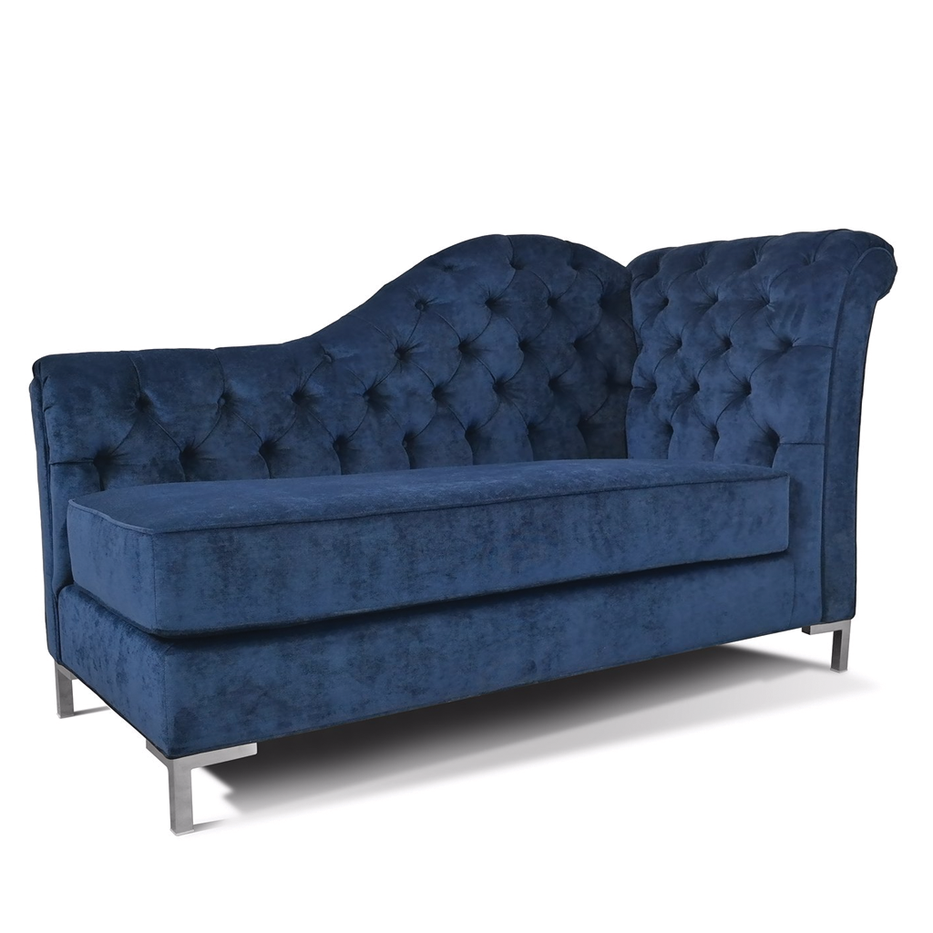 Everly Tufted Chaise Los Angeles Custom Furniture