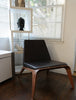 Decenni Custom Walnut Goleta Chair by Los Angeles Custom Furniture - Los Angeles Custom Furniture