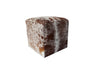 Decenni Argentinian Cowhide Cube Ottomans - Los Angeles Custom Furniture