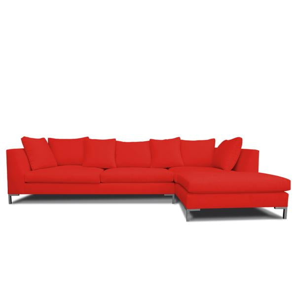 Sensational Decenni Divina Modern Sectional By Los Angeles Custom Furniture Ncnpc Chair Design For Home Ncnpcorg