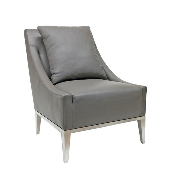 Decenni Elle Leather Chair by Los Angeles Custom Furniture - Los Angeles Custom Furniture