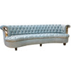 Getty Sofa tufted, nail-heads, mirror accents - Los Angeles Custom Furniture