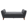 Suburban Chateau Klein Leather Bench by Los Angeles Custom Furniture - Los Angeles Custom Furniture
