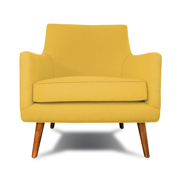 Decenni Mid Century Style Secolo Armchair - Los Angeles Custom Furniture