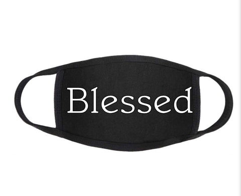 Blessed Design Face Mask