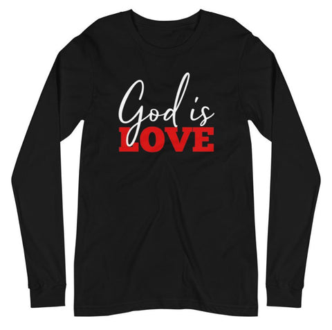 God is Love Long Sleeve Tee